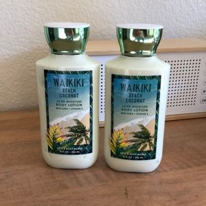 NWT BATH & BODY WORKS Waikiki Beach Coconut lotion